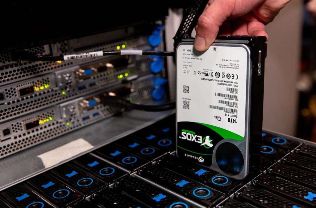 Seagate Advances In Its Blockchain Pilot To Track Hard Drives